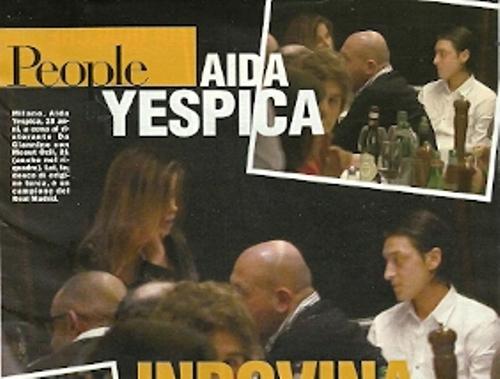Aida Yespica, tutta la verità su Ozil | soccerandwags